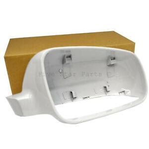Fits-VW-Golf-mk4-bora-passat-1996-04-blanc-brillant-Droit-Off-Side-Mirror-Cover-Cap