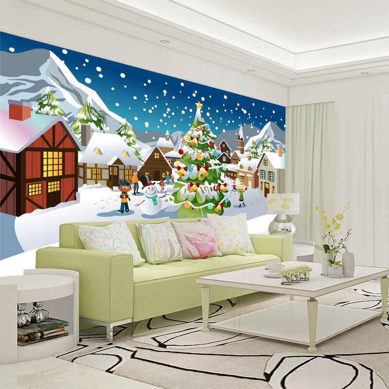 Mega 3D Snowlake Drift 436 Wall Paper Wall Print Decal Wall Deco Indoor Wall