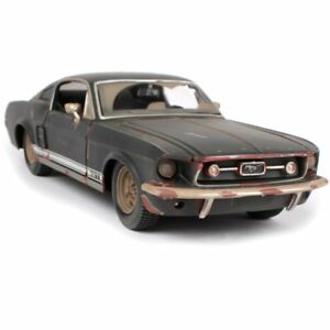 1-24-1967-FORD-Mustang-GT-Do-Old-Vintage-Diecast-Model-Car-Toy-UK-SELLER