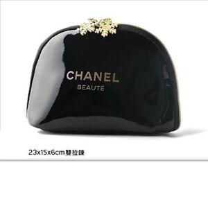 CHANEL-Beauty-Maquillage-Makeup-Trousse-Bag-Pouch-Clutch