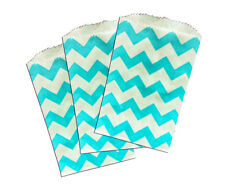 50 Blue Kraft Mini 3x5 Inch Bags Itty Bitty Goody Paper Bagsparty Favor Bags