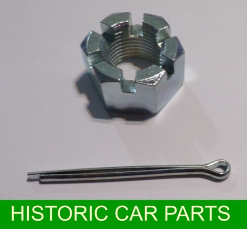 ½ Shaft CASTELLATED NUT /& SPLIT PIN Rear AXLE for MGB ROADSTER /& MGBGT 1965 ON