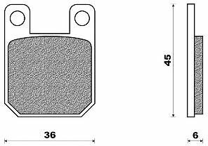 plaquette de frein scooter peugeot elystar 50 advantage elyseo 125 ludix 125 ebay. Black Bedroom Furniture Sets. Home Design Ideas
