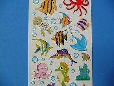 Under The Sea Stickers Kids Craft Planet Decorate Party Bags Invitations