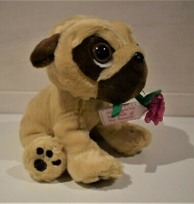 - Ted You Love Them Cuddly Soft 16 inch Stuffed Pugsley the Pug We Stuff Them