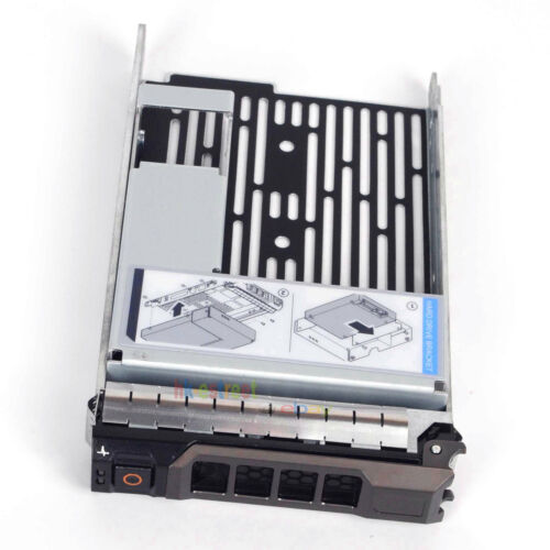 """3.5 inch HDD Tray Caddy 2.5/"""" Bracket Adapter For Dell PowerEdge R520 USA SHIP"""