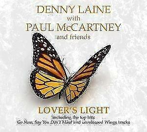 DENNY-LAINE-WITH-PAUL-McCARTNEY-AND-FRIENDS-Lovers-Light-Digipak-CD-700007