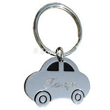 Schlüsselanhänger Auto mit Diamant - Gravur