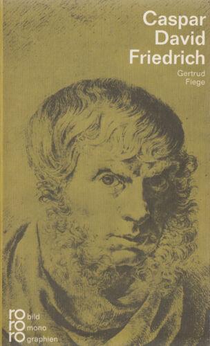 1 von 1 - ro- 252 FIEGE : CASPAR DAVID FRIEDRICH     rowohlts monographien   c