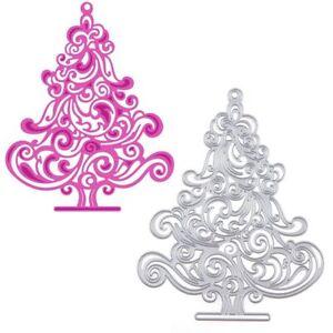 *** Coupe Meurt * Large * Arbre De Noël *** Noel *** Cartes ** Toppers **-as Tree****christmas***cards**toppers** Fr-fr Afficher Le Titre D'origine