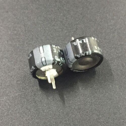 2//10pcs 3.6V 0.47F 3.6V ELNA DBS Farad Super Capacitor 13.5X7.5 Memory Backup