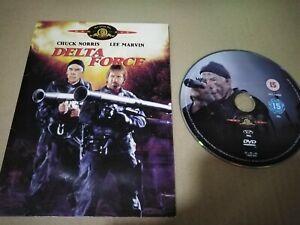 Delta Force DVD Chuck Norris Lee Marvin Tappo Cartone Fine