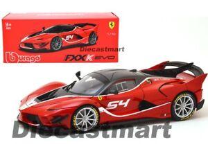 Bburago-1-18-Ferrari-FXX-K-EVO-54-Diecast-Model-Signature-Series-Red-18-16908RD