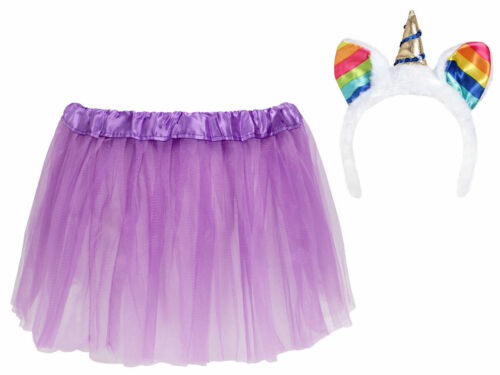 scintillant et tüllrock-Violet Princesses Costume Filles kv-169