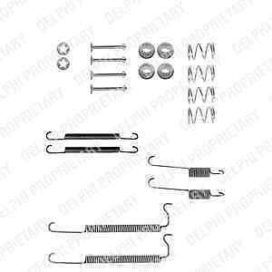 LY1008 Genuine Delphi Front Brake Shoe Accessory Kit