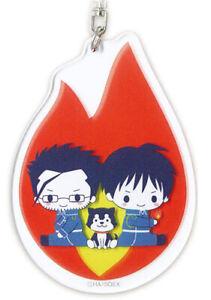 SQUARE ENIX FULLMETAL ALCHEMIST Roy Mustang 5cm toy key chain Japan anime 21
