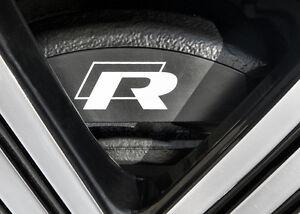 Details Zu R Line High Temperature Premium Brake Caliper Decals Golf R R32 Correct Sizes