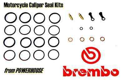 Ducati 999S 999 S 2003 2004 03 04 Brembo front brake caliper seal kit