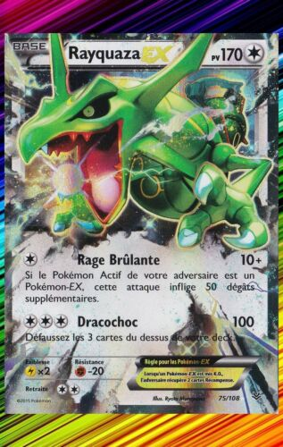 Pokemon Individual Cards Xy6 Ciel Rugissant 75 108 Carte Pokemon Neuve Francaise Rayquaza Ex Sportsedge Co In