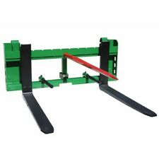 Titan 36 Pallet Fork Hay Bale Spear Attachment With Trailer Hitch Fits John Deere