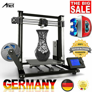 Anet A8 Plus DIY 3D Drucker Printer 300x300x350mm Groß LCD & 10m PLA Filament💯