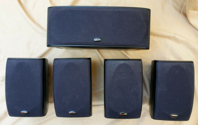 High End Polk Audio Rm6880 5 1 Surround Sound Powered Subwoofer 4xrm101 Rm202 For Sale Online Ebay