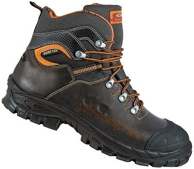 LEATHER WORK SAFETY SHOES TRAINERS STEEL TOE CAP GORE-TEX COFRA GALARR S3 WR SRC