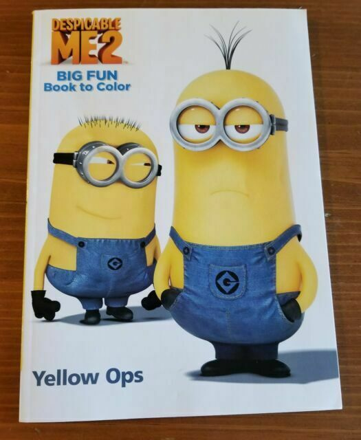 - Minions Coloring Book 96 Pages Despicable Me Minions For Sale Online EBay