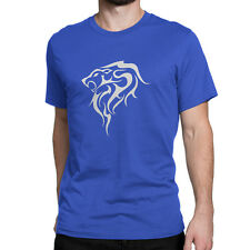 Western Zodiac Leo Custom Design Cotton Men's T-Shirt