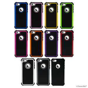 Shockproof-Case-Cover-for-Apple-iPhone-5-5s-SE-Screen-Protector-Gel-Hybrid
