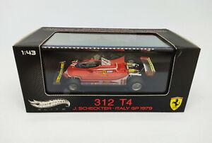 HOT WHEELS 1:43 ELITE 312 T4 J. Sckeckter Italy GP 1979 V8372 Ferrari 1 of 5000