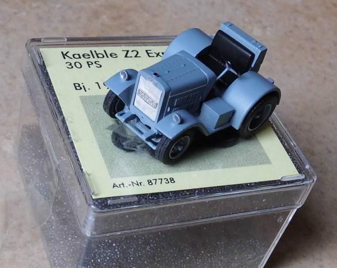 Kaelble Z2 Express  - von Saller 1 87