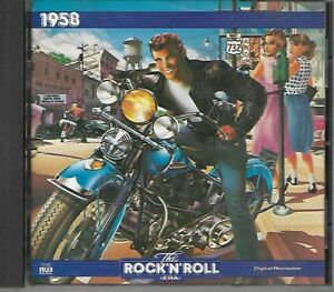 """""""1958 - THE ROCK 'N' ROLL ERA"""" - MUSIC CD - VARIOUS ARTISTS - TIME-LIFE MUSIC"""