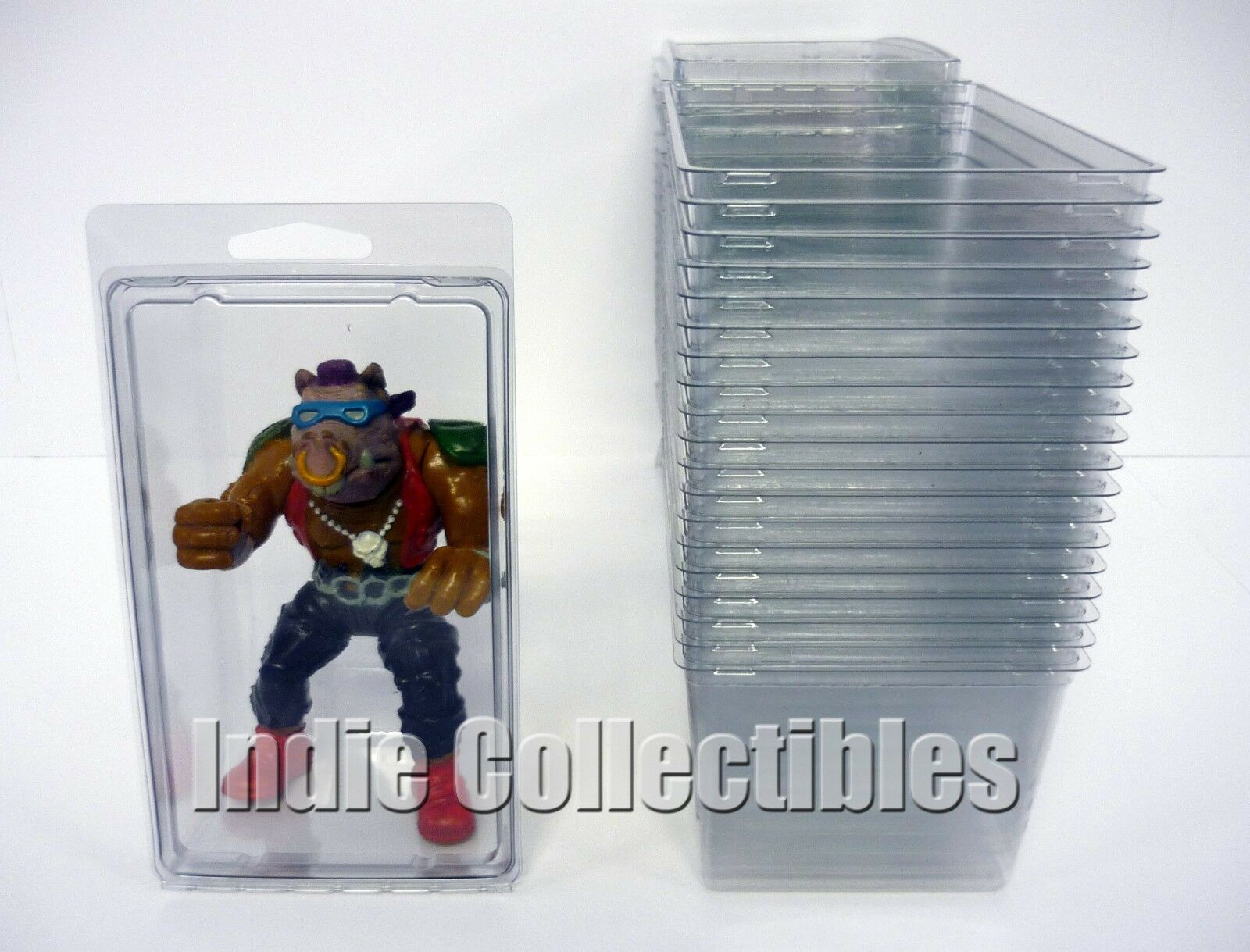 TMNT BLISTER CASE LOT OF 20 Action Figure Display Predective Predective Predective Clamshell X-LARGE b0e873