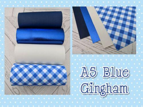 para manualidades y arcos * A5 X 4 Fabric moña azul Paquete