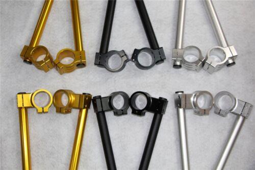 """Riser 43MM Clip On 7//8/"""" Handlebars For Suzuki Bandit 1200 GSF1200S 1997-2005"""