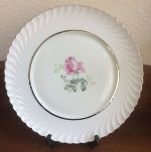 vintage rare royal tettau sterling rose round plate germany us