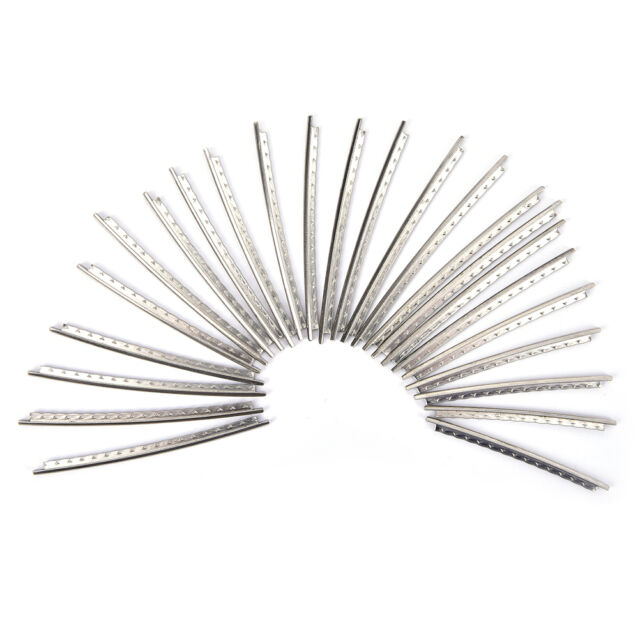 24pcs Set Electric Guitar Frets Wire 2.2mm Copper-nickel Alloy PT