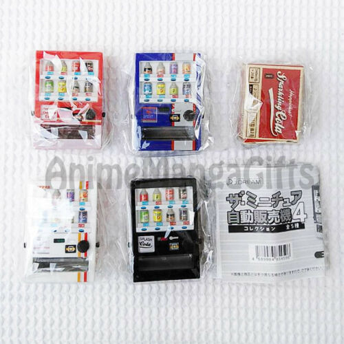 Mini Vending Machine Collection v.4 J.DREAM JAPAN COMPLETE SET 5 PCS