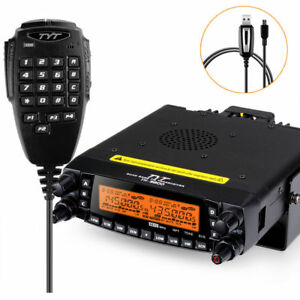 TYT-TH-9800-Plus-50W-809CH-Quad-Band-Dual-Display-Repeater-Car-Truck-Radio-Cable