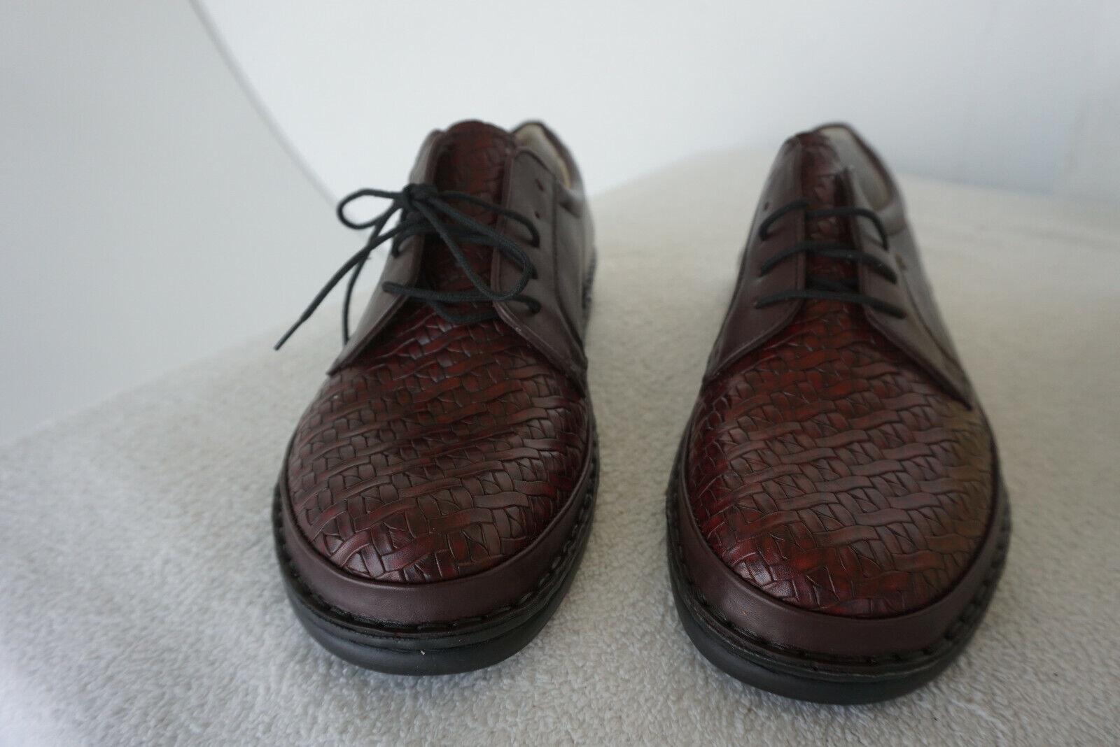 Finn Comfort Oxford Chaussures à Lacets avec Semelle Intérieure Gr.7 40,5
