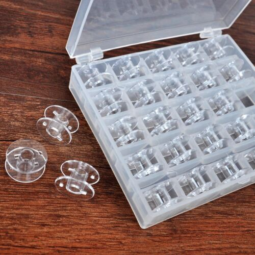 Storage Box 25 Rooms Sewing Haberdashery Bobbin Case for Sewing Machine