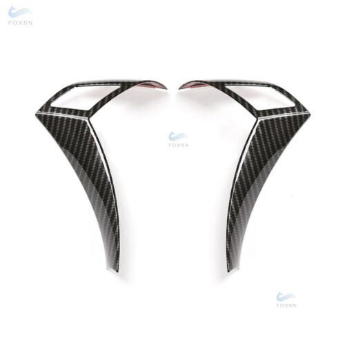 NEU Carbon Lenkradtaste Schalter Lenkradblende für BMW 5er E60 E61 2003-2010