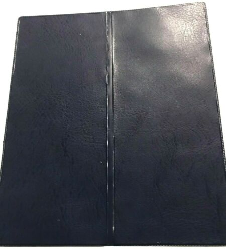 DOUBLE FOLDING LOTTERY TICKET HOLDER//WALLET LEATHER LOOK