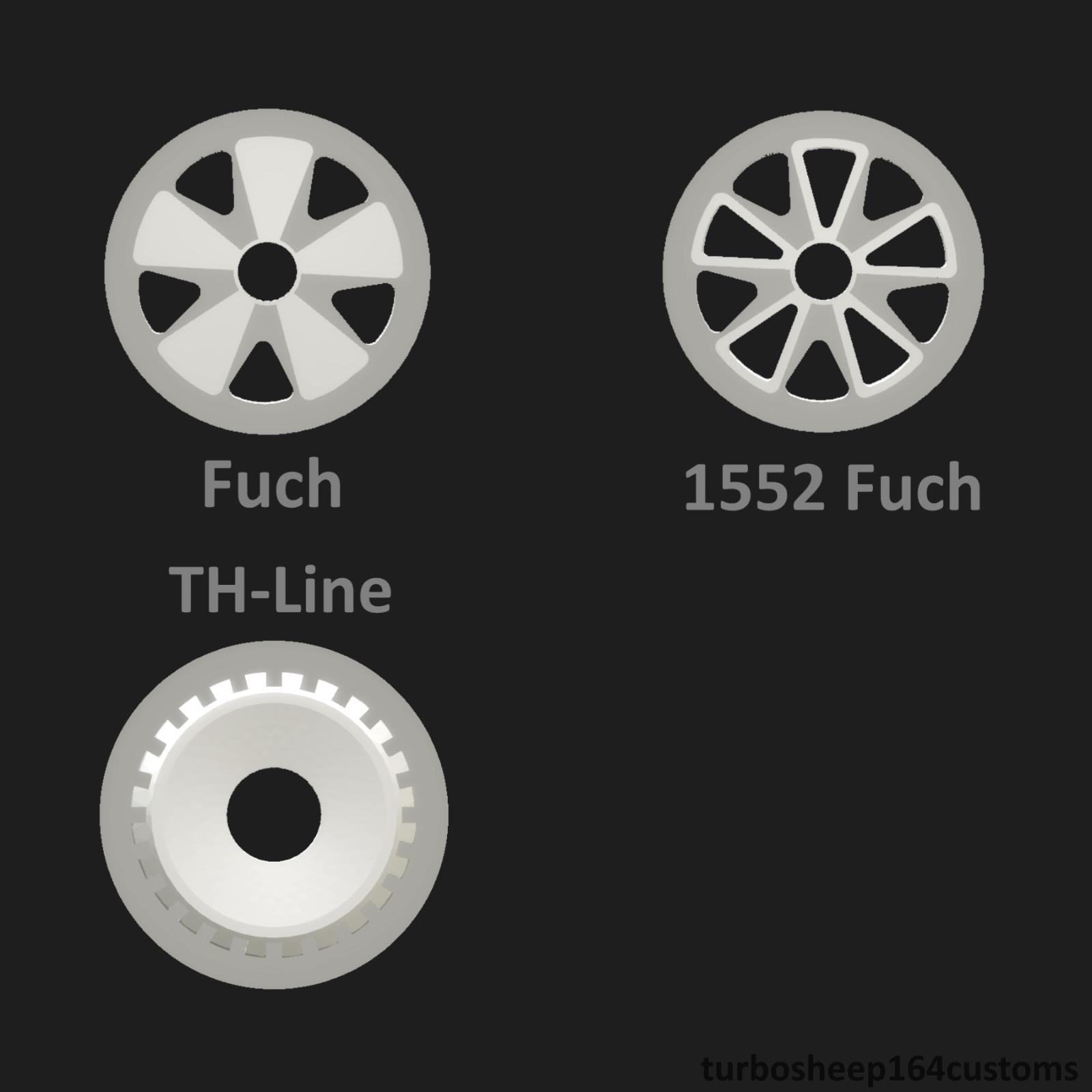 Custom 1:64 Scale Rays 10 Spoke Wheels Hot Wheels Matchbox