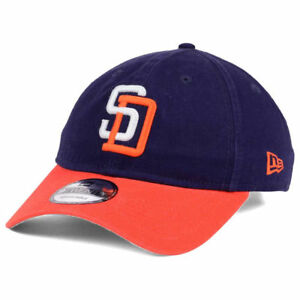 7da9a6a05ea San Diego Padres New Era MLB Core Classic Cooperstown Adjustable 2 ...