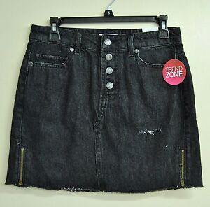736ffcc1f6d Sears Juniors TZ Trend Zone Rack  2 Denim Skirt - Black (Size 5 ...