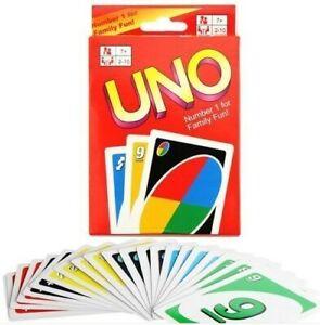 G3-UNO-Gioco-da-Tavolo-di-Carte-2-Mazzi-Nuovi-e-Sigillati-Party-Game