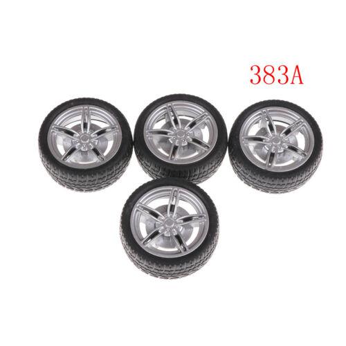 4X Rubber tire wheel RC model toy car accessories dia16mm 22mm 26mm 38mm 48mm MT