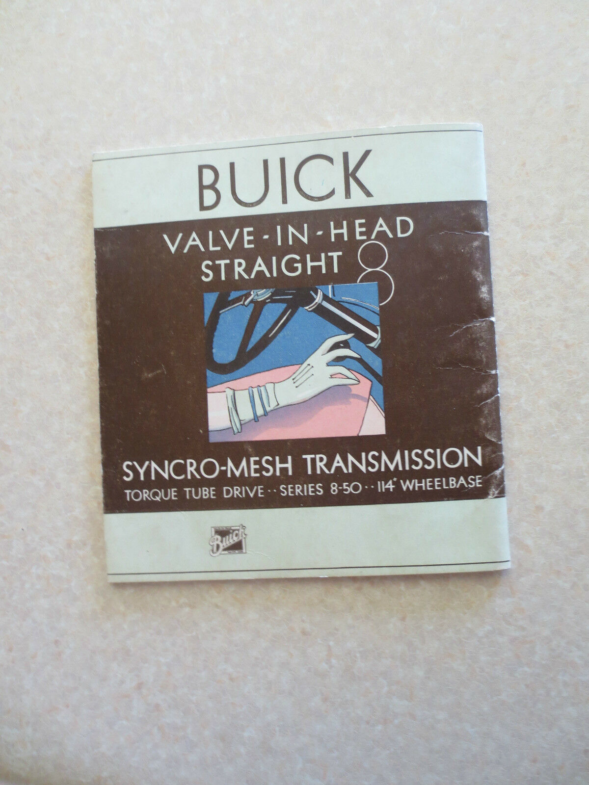 Original 1931 Buick Straight 8 automobile promotional booklet - 29